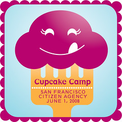 Cupcake Camp (cindyli) Tags: sanfrancisco ca illustration cupcake cindyli citizenagency cupcakecamp upcoming:event=613266