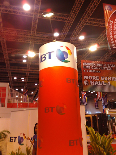 BT booth