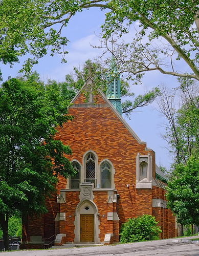 Saint Mary's High School, in Saint Louis, Missouri, USA - Saint Joseph Chapel
