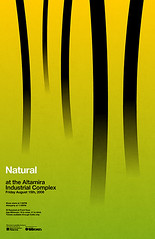 Natural Poster (_Untitled-1) Tags: green poster design industrial graphic natural minimal gradient osaka network organic simple complex altamira typographic