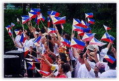 Be Proud, Whatever And Whoever You Are (Mr. FRANTaStiK) Tags: colors flag philippines celebration filipino patriotism independenceday pilipino pinoy kabayan 12june fongetz francistan ojipark