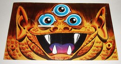 Topps Blockhead - #8 Three-Eyed Monster