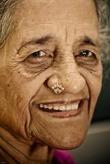 Smile (knowsnotmuch) Tags: grandma smile eyes sb600 wrinkle 166 explored 105vr
