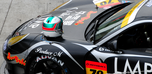 The Helmet Story, Super GT, Sepang, 2008