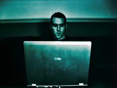 Hanny on his laptop_MMVIII