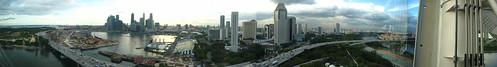 Singapore Flyer Panorama