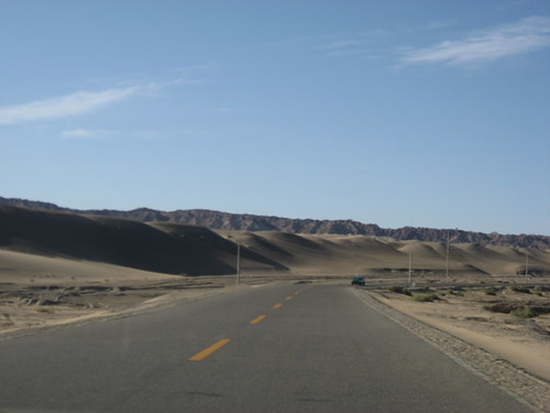 The road to Mogao Caves