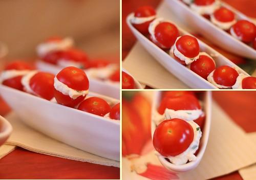 Tomates-Cerises farcies