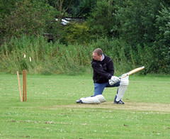 Pentney Charity Cricket Match (Sam Knox) Tags: charity norfolk umpire stephenfry familyfunday cricketmatch pentney