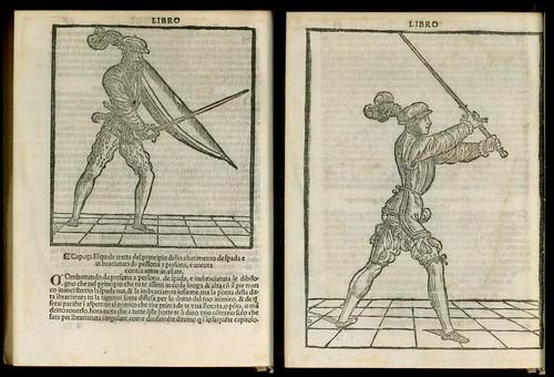 L'arte de l'Armi by Achille Marozzo, 1536 d