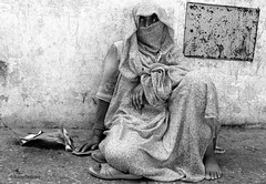The eyes of the immigrant (thebaz_dublin) Tags: poverty africa islam morocco arab begging
