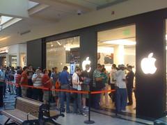Galleria:Apple Store:Line