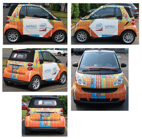 Intel Centrino 2 Smart Car with WiMAX