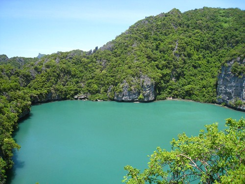 Talay Nai (emerald lake)