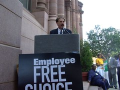Ohio: Cincinnati Rally for the Employee Free C...