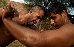 "INDIA TRADITIONAL WRESTLING (Raminder Pal Singh) Tags: amritsar punjab india kushti wrestling tradition ""traditionalindianwrestling"" play skill akhara akhaara dangal ghol ""wrestlingstyle"" ""grecoroman"" freestyle bout mud strength rope guru gymnasium ""traditionalgymnasium"" grasp hold cling art ""raminderpalsingh"" raminder ""photofeatureonkushti"" photofeatureonindianwrestling"" ""epaphoto"" ""europeanpressphotoagency"" ""featurephotography"" malla warriorship"