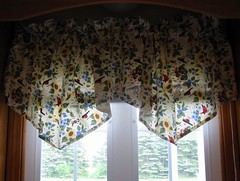 """Cheep Housing"" Ascot Valances"