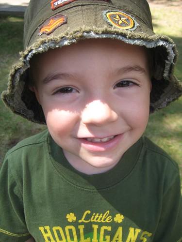 Nick, closeup