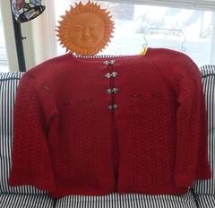 February Lady Sweater finished