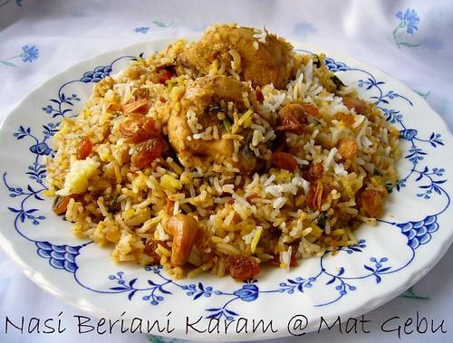 Nasi Beriani Karam