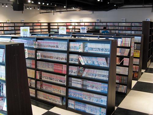 20,000 manga books
