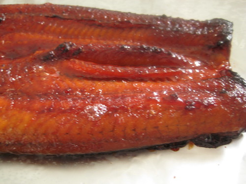 BBQ Eel (close-up)