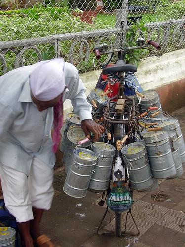 Dabbawala:  Essen Lieferservice in Mumbai