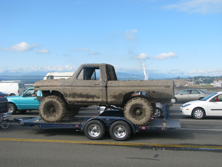Now that's a dirty truck!