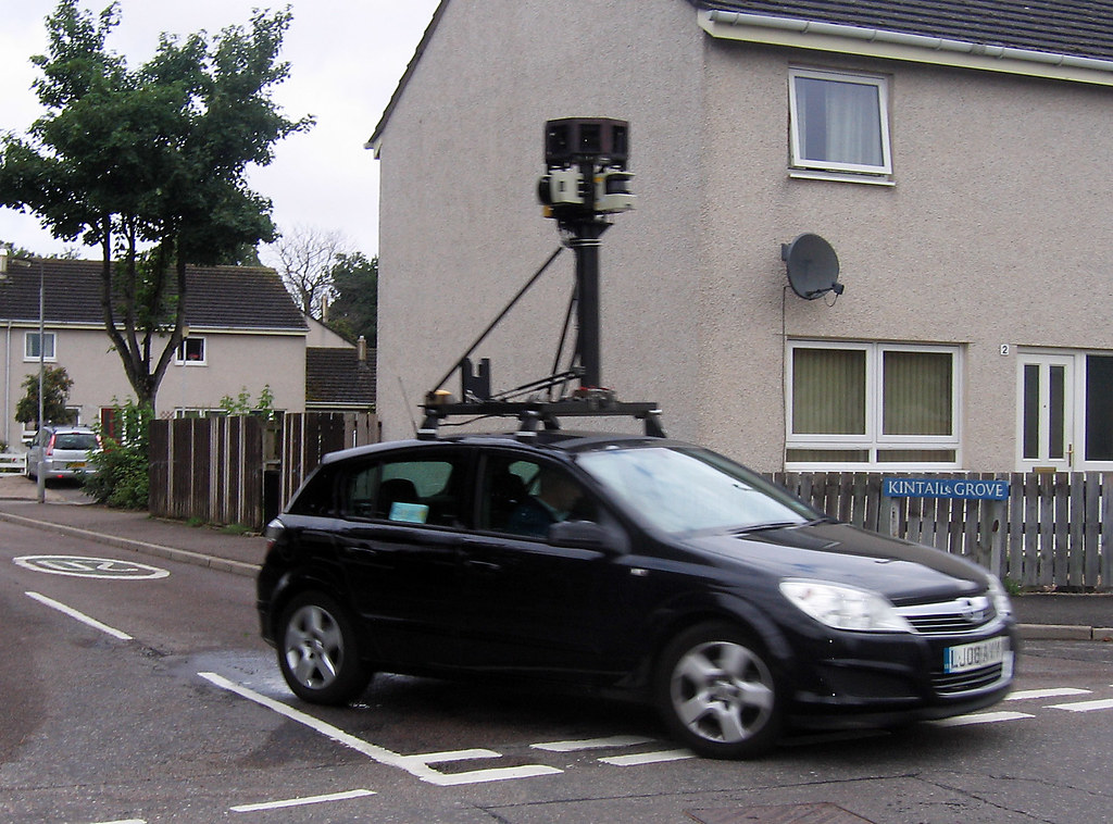 Google Street View in Forres 1597