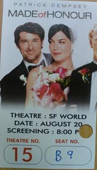 Made of Honor Ticket