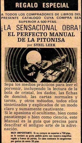 manual pitonisa