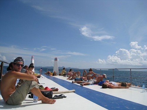 Roof of ferry from Koh Phi Phi Don to Krabi