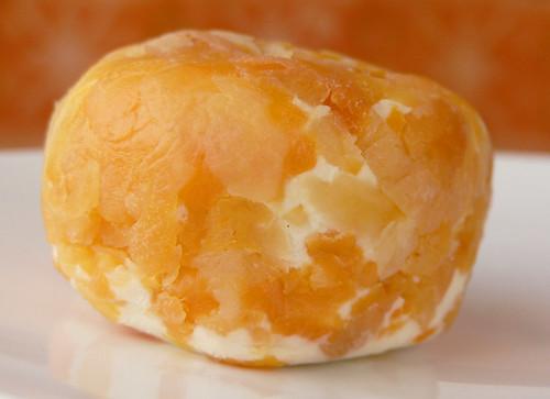 Ziegenkäse mit Aprikosen