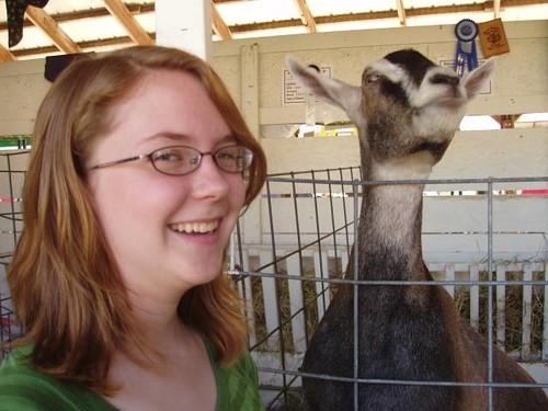 goat taller than becca?