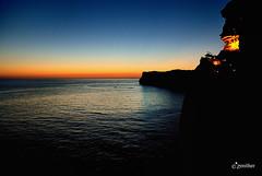 Djame que vuelva maana / Let me come back tomorrow (Ale Amador) Tags: sunset sea evening mar puestadesol menorca mediterraneansea minorca balearicislands marmediterrneo illesbalears islasbaleares covadenxoroi abigfave calanporter zenither cavesofxoroi