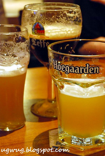 Hoegaarden, Leffe, Carlsberg Xtra Cold