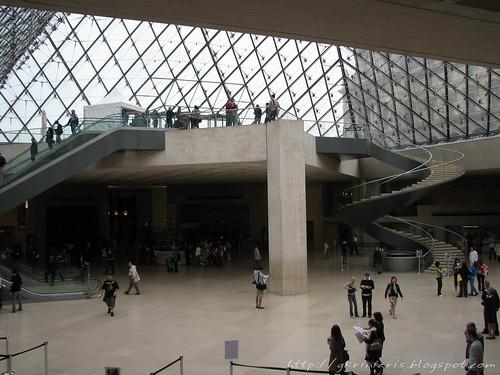 Louvre atrium