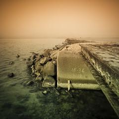 On The Edge (Khaled A.K) Tags: seascape photography squares surrealism sa jeddah grad saudiarabia khaled tobacco ksa kashkari