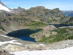 Jerry Lakes Basin From Notch