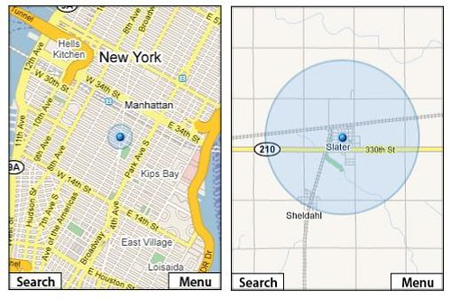 Google Maps for Mobile with My Location