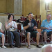 GMF tutor Greg Burk (second from right) leads world music ear hamony training workshop