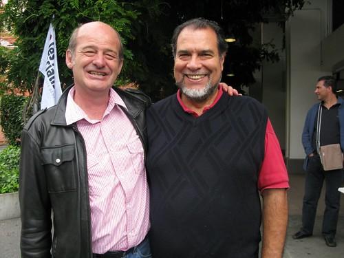 Alain Charbonnier et Alberto Perez
