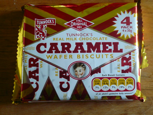 Caramel Wafer Biscuits