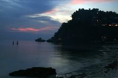 Boracay Sunset (J. Regalado Mabuhay Satellite) Tags: sunset beach boracay stillness