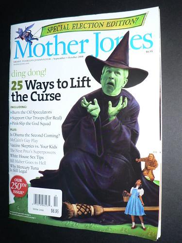 Mother Jones Sept 2008 issue