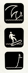 Coastal Hazards (Stewf) Tags: cliff beach warning log waves stickfiguresinperil oregoncoast hazard iconography