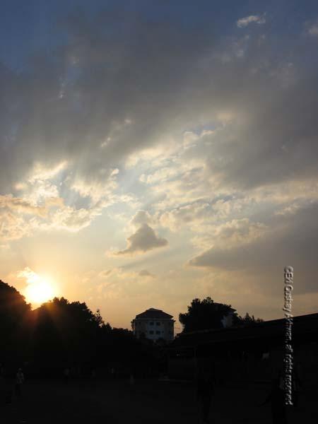 Evening on Campus - Copyrights Eki Akhwan