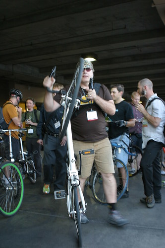 Mobile Social at Interbike & alleycat