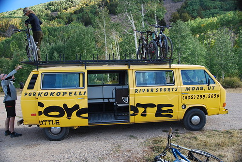 Coyote Shuttles Vanagon-agon