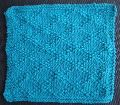 Brocade Dish Cloth 1